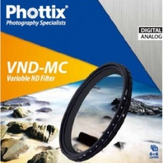 Phottix VND-MC Variable ND 62mm filtras